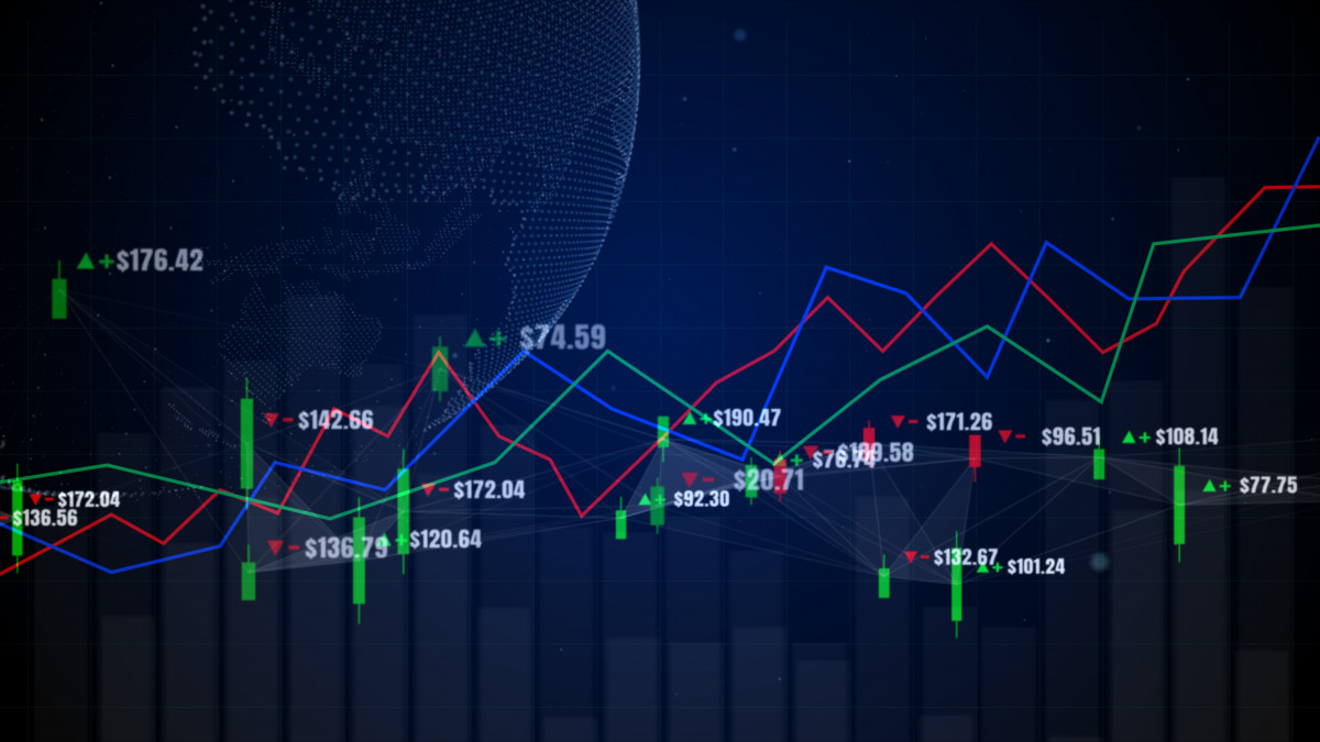 how to read the stock market chart