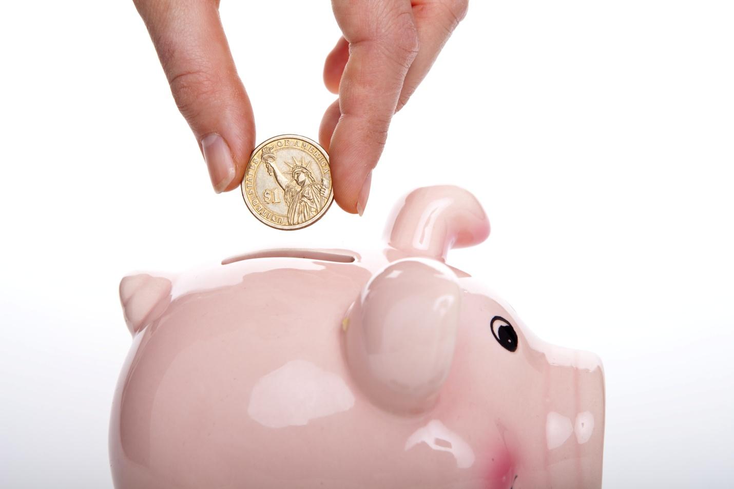 Saving money helps in the long-run