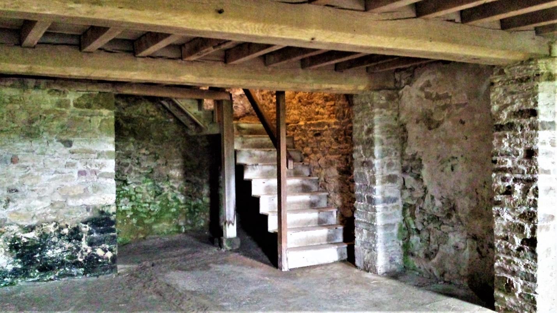 A house basement
