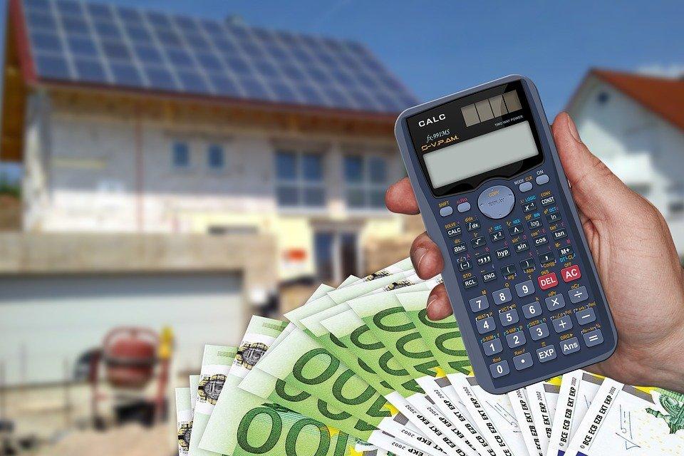 Cost, Calculator, Euro, Dollar, Money, Housebuilding